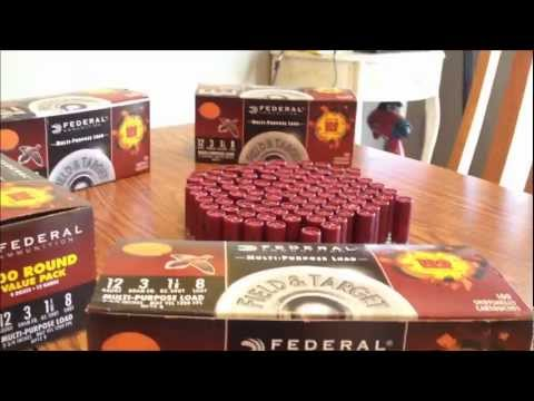 Wal-Mart Federal Shotshell Ammunition Review - Cheap Ammo