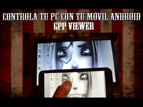Controla tu PC desde Android Remotamente - GPP Remote Viewer - Galaxy Note 3