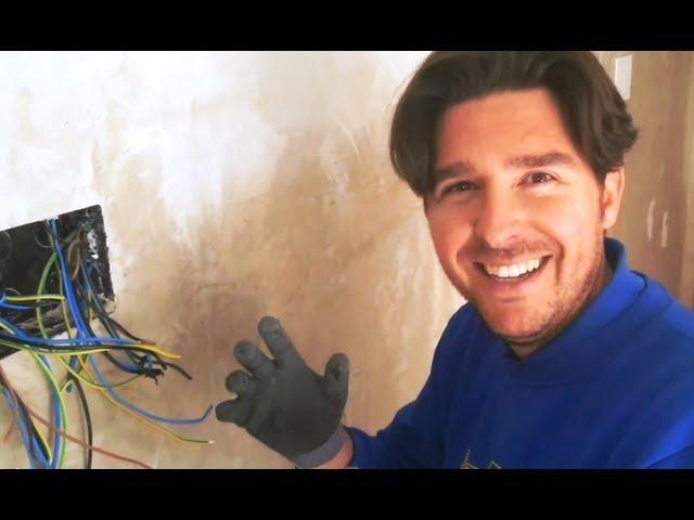 Como Conectar Cables en Caja de Registro. Tutorial Electricidad