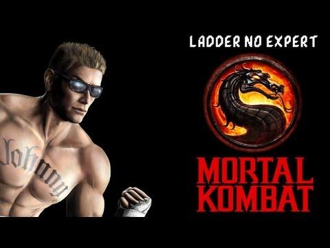 Jonny Cage Van Dame - MK9 Gameplay, falando sobre Injustice (ladder on expert)