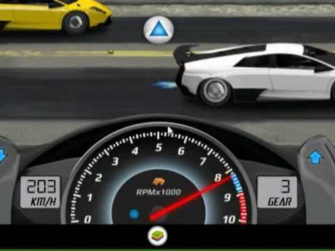Drag Racing 1.5.2 1/4 7.960 tune Lamborghini Murcielago LP 670 level 8