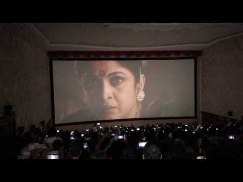 Bahubali2:The conclusion Trailer theatrical response in Bramarambhika theatre Kukatpally Hyderabad thumbnail