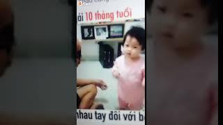 Galove Dzit:10 tháng tuổi cãi tay đôi với bố :))