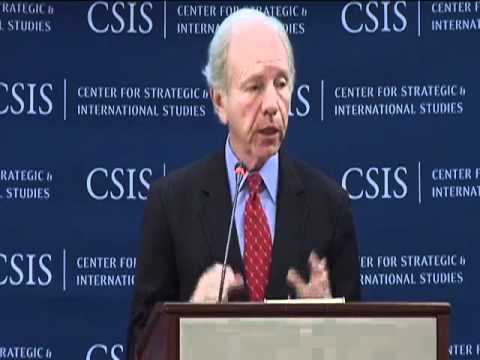 Senator Lieberman: China's action has to STOP