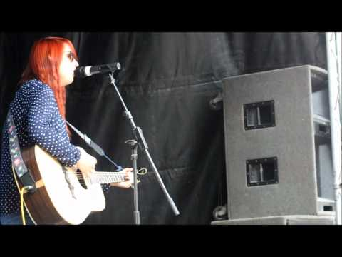 Lady Gaga 'You and I' performed by Lucy Marshall at Briggstock 2012