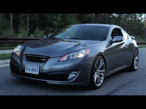 Hyundai Genesis Coupe Review!