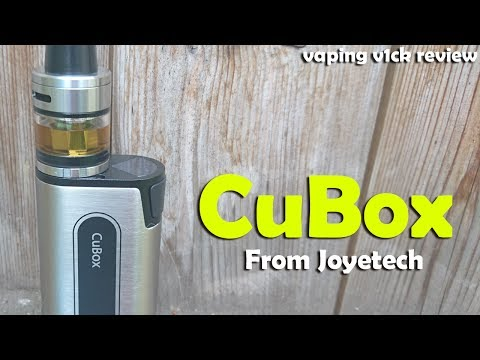 CuBox with Cubis 2 Kit from Joyetech - Quick Look