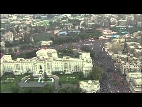 Raw: Egypt Military Releases New Protest Video
