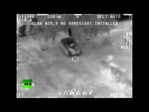 Video: La fuerza aérea iraquí ataca a militantes del Estado Islámico