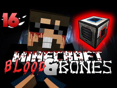 Minecraft FTB Blood and Bones 16 - THE NEW UPDATE(Minecraft Mod Survival FTB)