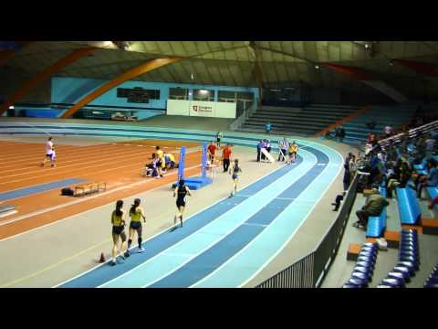 Final 3000ml femenino Campeonato Navarro (Zaragoza) 12/02/2011
