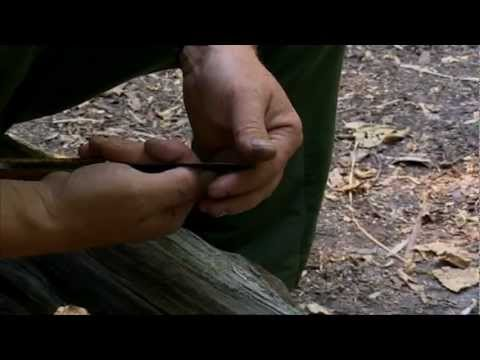 Ray Mears - Knife Sharpening, safety, handling, nettle cordage full video