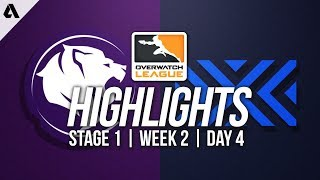 Los Angeles Gladiators vs New York Excelsior ft Pine | Overwatch League Highlights OWL Week 2 Day 4