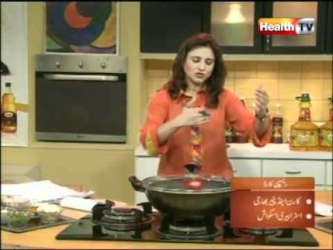 """Healthy Cooking"" – Ep# CORN & PANEER BHAJI-STRAWBRY SQUASH part-1B/4 (02-MAY12) Health TV.mpg"
