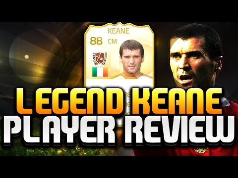 FIFA 15 Ultimate Team Legend Roy Keane 88 Player Review FUT 15 Legend Keane Review FIFA 15 UT