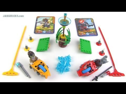 LEGO Chima Speedorz 70113 Chi Battles 2-in-1 set review! - YouTube