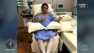 Jair Bolsonaro se recupera bem, segundo boletim médico | SBT Notícias (10/09/18)