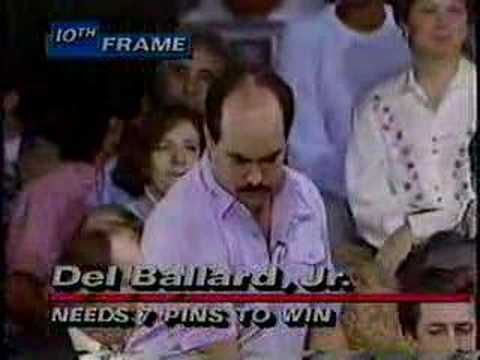 A shocking ending to a PBA title match! - Del Ballard vs. Pete Weber