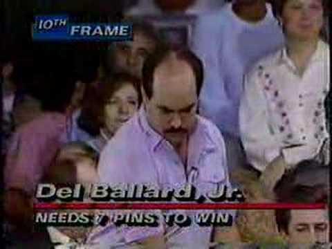 A shocking ending to a PBA title match! - Del Ballard vs. Pete Weber