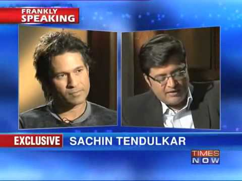 Frankly speaking With Sachin