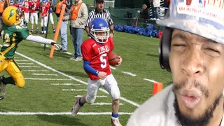 WTF BROKE 5 TACKLES AT ONCE!! CODY PAUL BEST KID FOOTBALL PLAYER EVER REACTION!