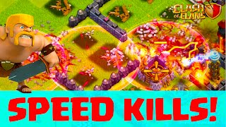 Clash of Clans Haste Spells ♦ From FAIL to WIN - Speed KILLS! ♦ CoC ♦