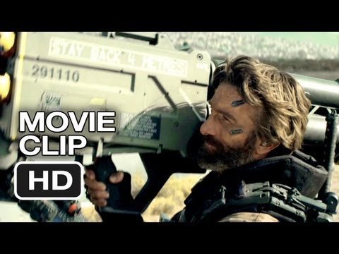 Elysium Movie CLIP – Undocumented Ships Inbound (2013) – Matt Damon Sci-Fi Movie HD