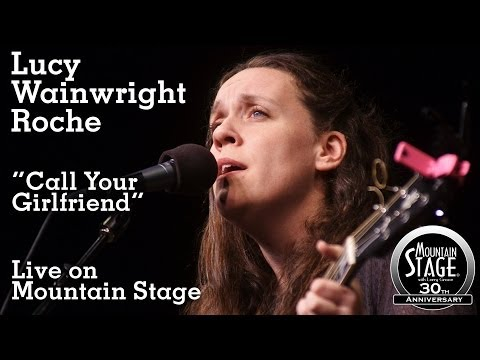 Lucy Wainwright Roche - Call Your Girlfriend Live