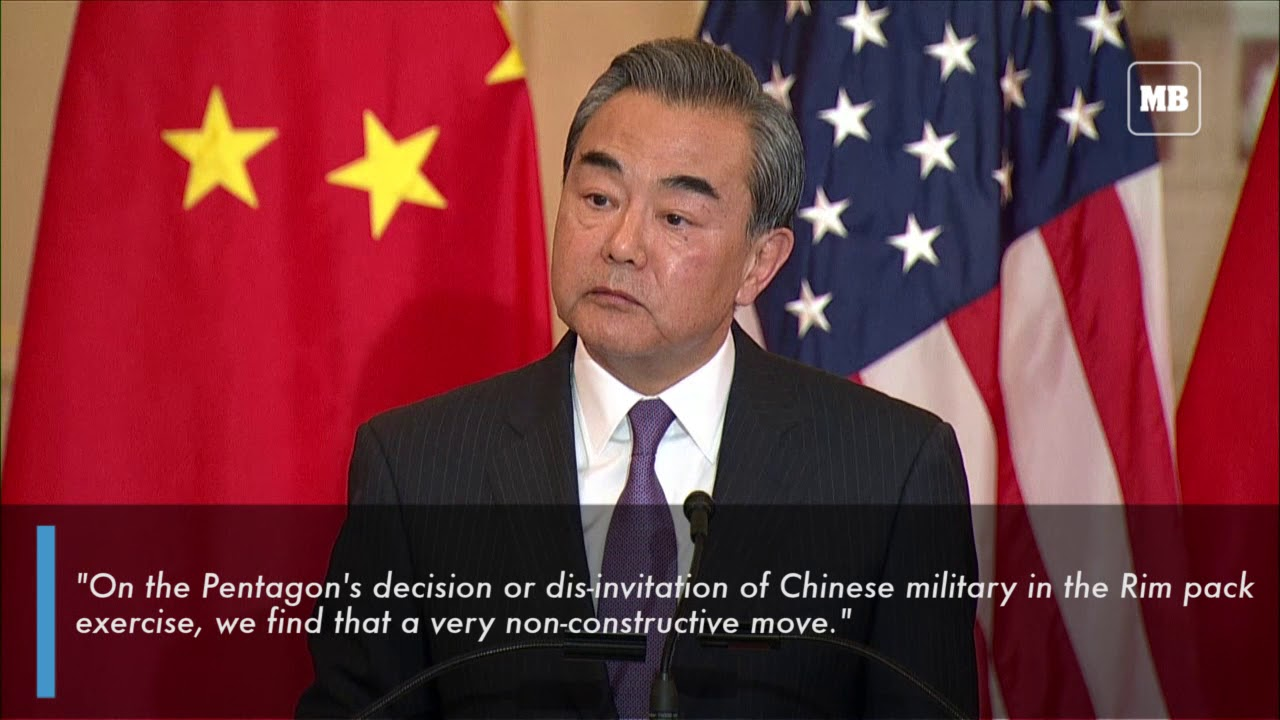 China calls barring from naval exercises 'non-constructive'