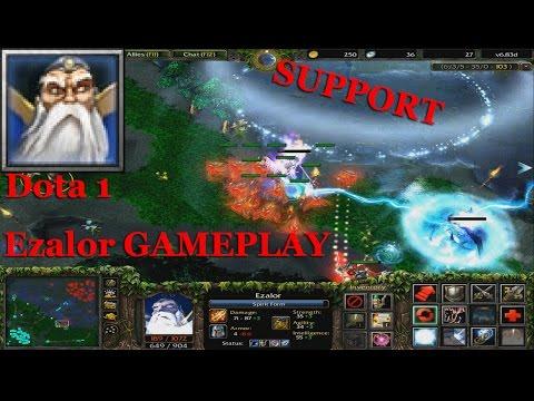 Keeper of the Light - Dota 1 Ezalor SUPPORT GAMEplay | Dota Ezalor