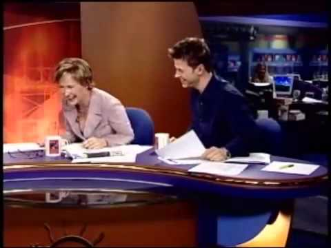 Anchor Laughs Till She Cries (blooper/fail on the news).mp4 Music Videos