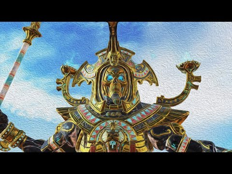 Арена Смерти! Цари Гробниц VS Хаос в Total War Warhammer 2!