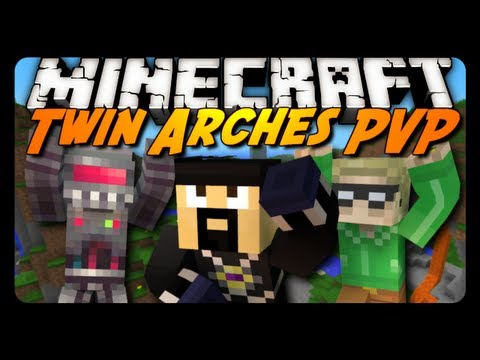 Minecraft: Twin Arches PVP w/ AntVenom & Friends!