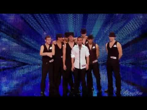 French stuntmen Cascade @ Britain's Got Talent 2012 Auditions