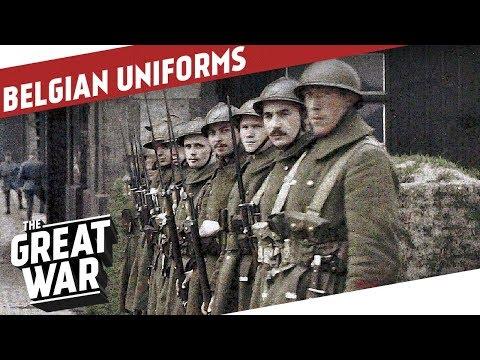 Belgian Uniforms Of World War 1 I THE GREAT WAR Special