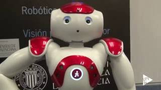 Andy, el primer robot con diabetes de España - Noticia @UPVTV, 14-10-2016