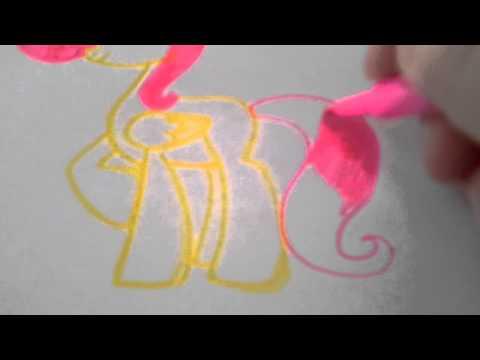 Видео как нарисовать маленькую пони