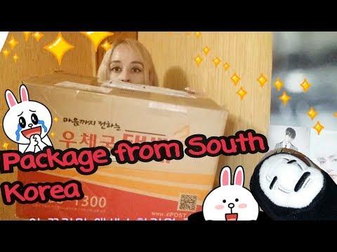 Посылка из Южной Кореи /Parcel from Korea /국 소포가 왔다
