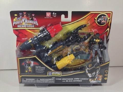 Review: Land Brothers Zord Vehicle (Power Rangers Megaforce)
