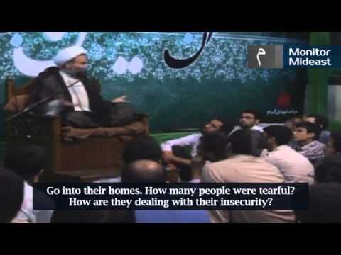 Iranian Cleric: The Battle for Iraq Is a Saudi War on Iran (English Subs)