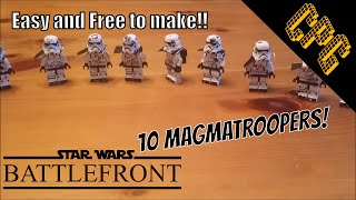 How to Make LEGO Sullust Stormtroopers for FREE!!