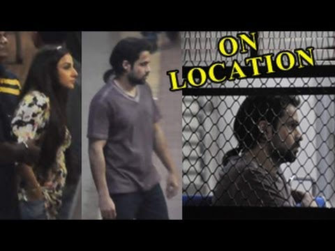 ON LOCATION: Vidya Balan & Emraan Hashmi for 'Ghanchakkar'