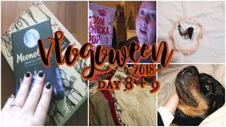 🎃 WITCHCRAFT, CLEANING MY CLOSET, & CHRISTMAS FOOD TASTE TEST 🎃 | VLOGOWEEN 2018 - Day 8 & 9
