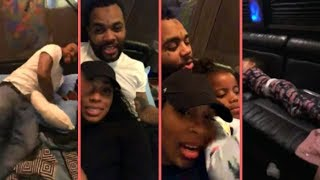 Kevin Gates and Wife Dreka Living Best Life On Million Dollar Tour Bus Riding With Kids In Louisiana