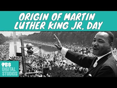 How Did Martin Luther King Jr. Get a Holiday?
