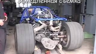 Запорожец с двигателем от Ford Mustang Shelby GT 500