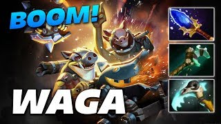 Waga Techies BOOM! | Dota 2 Pro Gameplay