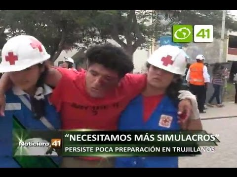 CESAR FLORES PIDE MÁS SIMULACROS 06 OCTUBRE