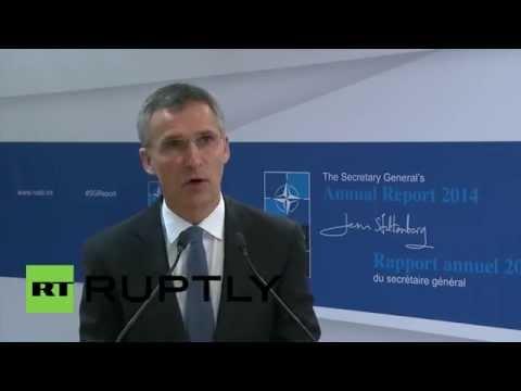 Belgium: 'Biggest NATO reinforcement since the cold war' - Stoltenberg