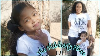 THE CHILDREN'S PLACE HAUL  |  FIRST CLOTHING HAUL FOR 2018